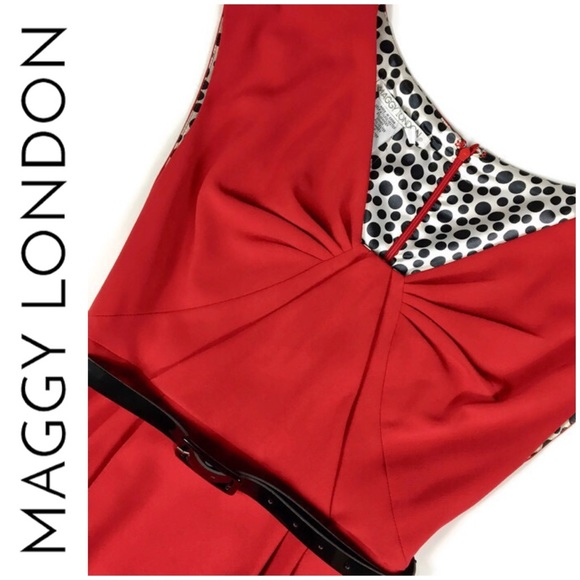 """Maggy London Dresses & Skirts - NWOT!  Maggy London """"Red Turns Heads"""" Dress"""